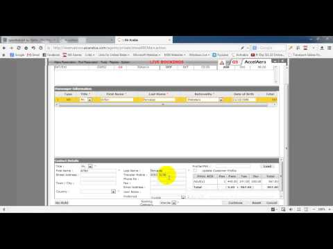 Air Ticket Booking Checking Accounts