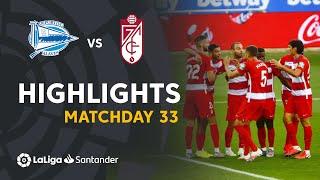 Highlights Deportivo Alavés vs Granada CF (0-2)