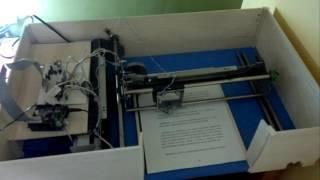 Impresora HARECA Braille. Vargas Reiner