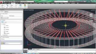 Re-creating *most* of Brasilia National Stadium - in about 20 minutes, with AGX for AutoCAD