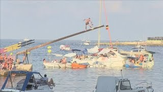 How To Climb A Greasy Pole... Traditional Maltese Style