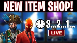 COMPTE À REBOURS EN DIRECT DE LA BOUTIQUE D'ARTICLES « NEW » ! New Fortnite Skins 6 avril EN direct! (Fortnite Item Shop En direct)