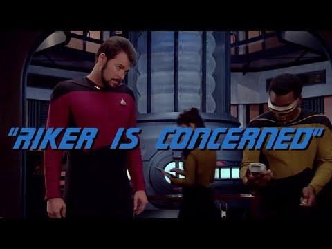 TNG Intake - Riker is concerned