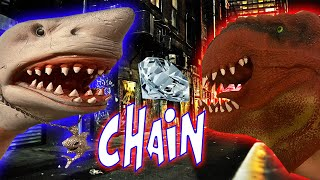SHARK PUPPET GETS HIS CHAIN SNATCHED!!!!!