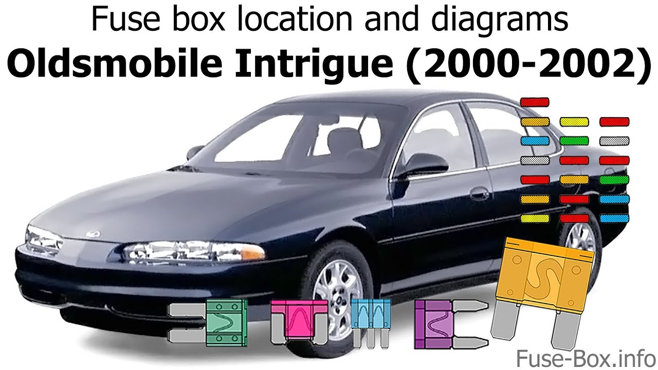 2000 alero engine diagram fuse box location and diagrams oldsmobile intrigue  2000 2002  fuse box location and diagrams