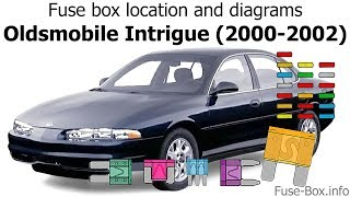 [SCHEMATICS_4PO]  Fuse box location and diagrams: Oldsmobile Intrigue (2000-2002) - YouTube | Fuse Box For 2001 Oldsmobile Aurora |  | YouTube