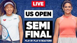 🔴 OSAKA vs BRADY | US Open 2020 | LIVE Tennis Play-by-Play