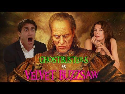 The Ghostbusters Battle Deadly Art In Velvet Buzzsaw