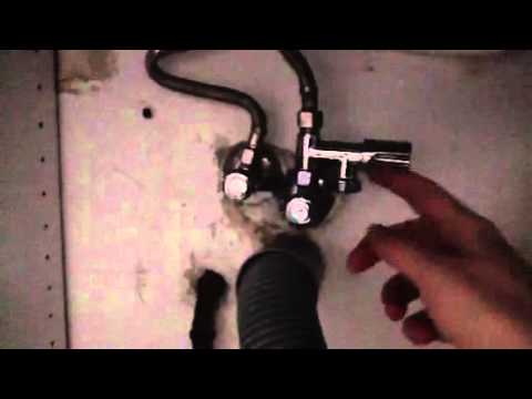 Spulmaschine Anschliessen Mit Eckfix Adapter Youtube