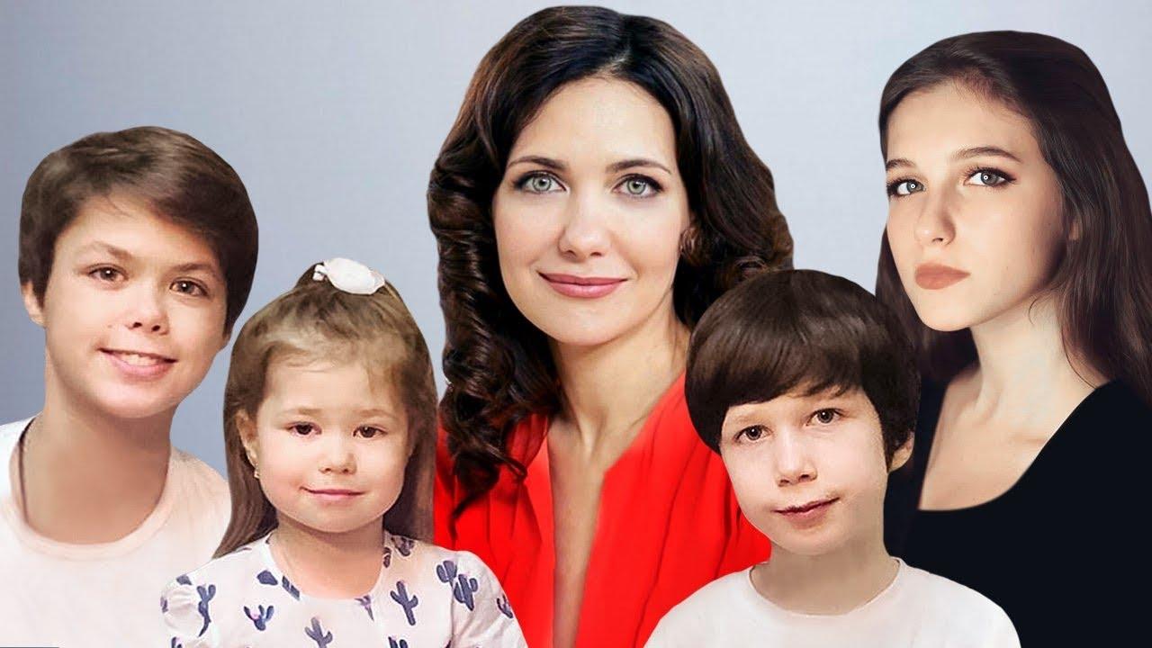Как Климова воспитывает детей от трёх разных мужей?