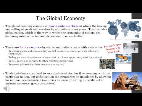 VCE Lec 2 7 The Global Economy