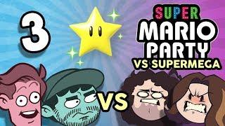 Super Mario Party VS SuperMega: Brain No Work - PART 3  - Game Grumps VS