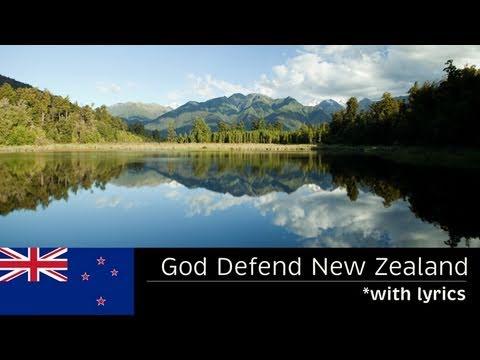 GOD DEFEND NEW ZEALAND - (with lyrics) - FULL LENGTH