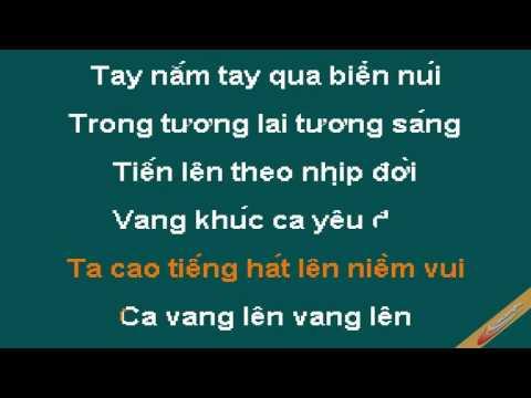 Thiếu Nhi Thế Giới Liên Hoan Karaoke - CaoCuongPro