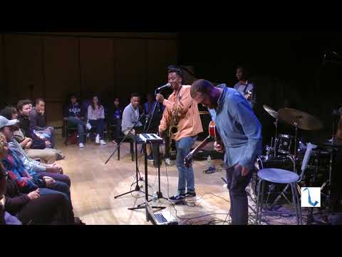 Braxton Cook Quintet live at Yale, 9/29/17