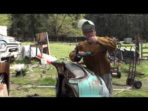 1955 to 1959 Chevy GMC Truck Dash Removal