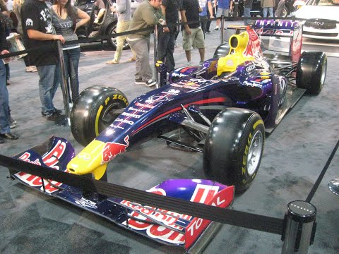 Infiniti Red Bull Racing F1 Race Car