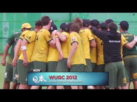 USA vs Australia - 2012 World Ultimate Championships - Men's Crossover