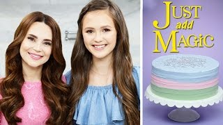 JUST ADD MAGIC CAKE ft Olivia Sanabia- NERDY NUMMIES