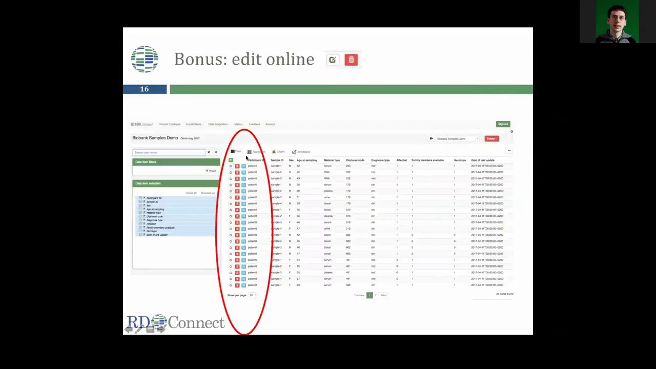 rd connect sample catalogue webinar for biobank managers youtube