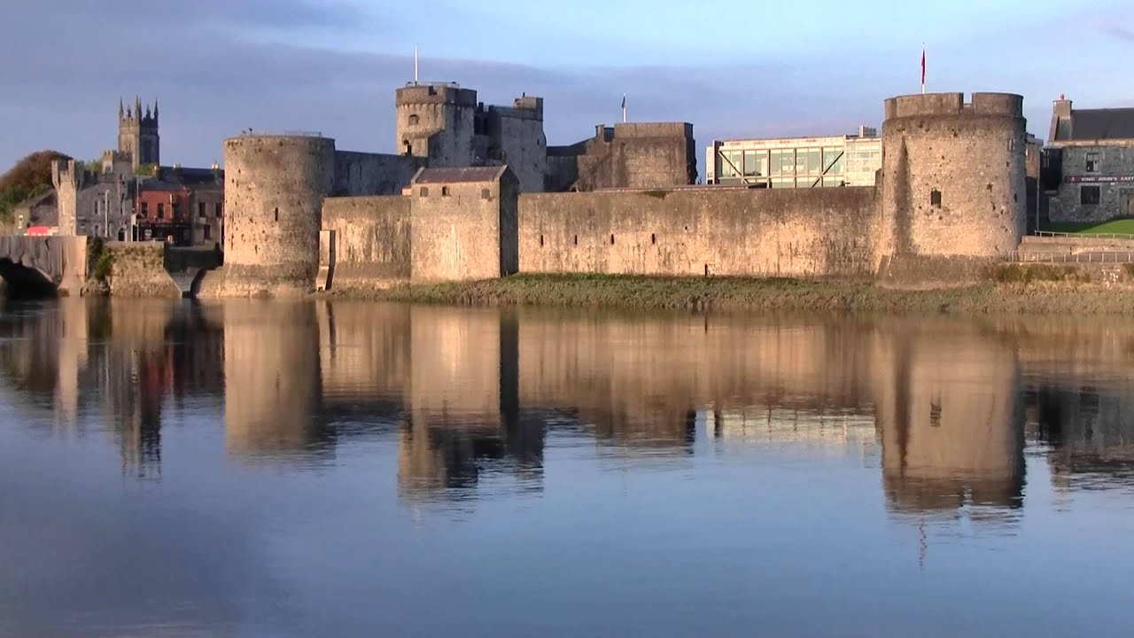 King John's Castle reflection, Limerick, Ireland - YouTube