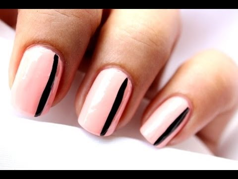 in 4 easy steps  easy nail designs  nail art mani  youtube