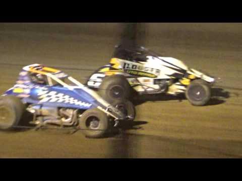 JJ Hughes @ Lincoln Park Speedway (LPS) 07-23-2016