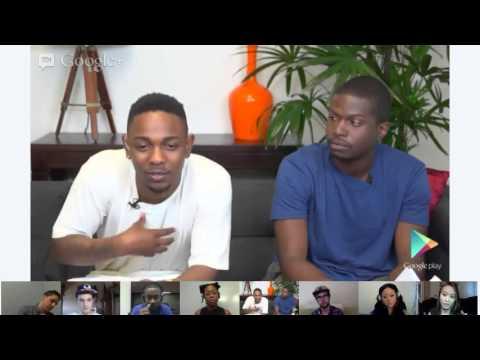 Google Play presents: Kendrick Lamar Hangout