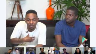 Google Play presents: Kendrick Lamar Hangout