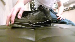 "Air Jordan III Retro ""Black Flip"" Review at Exit 36"