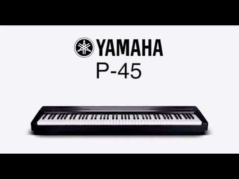 yamaha p series p 45 digital piano overview youtube. Black Bedroom Furniture Sets. Home Design Ideas
