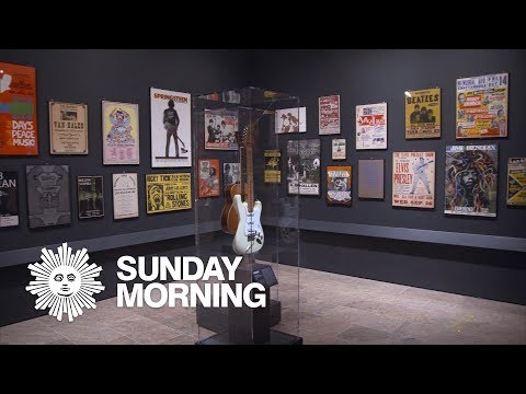 Crystal - VIDEO:  Greatest Instruments In Rock History on Display at the Met in NY