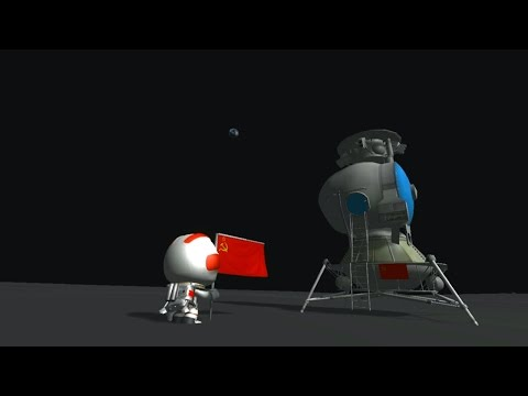 Kerbal Space Program - N1-L3 Soviet Moon Rocket - RSS