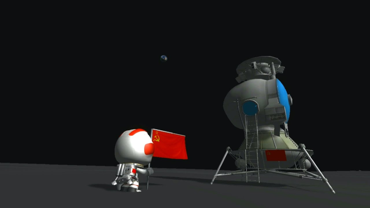 Kerbal Space Program - N1-L3 Soviet Moon Rocket - RSS ...