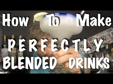 PERFECT FROZEN COCKTAILS - Bartending 101