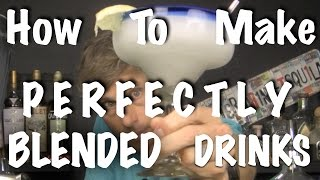 PERFECT FROZEN COCKTAILS - Bartending 101