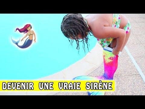 COMMENT DEVENIR UNE VRAIE SIRÈNE ? 🧜♀️ / Tuto Sirène