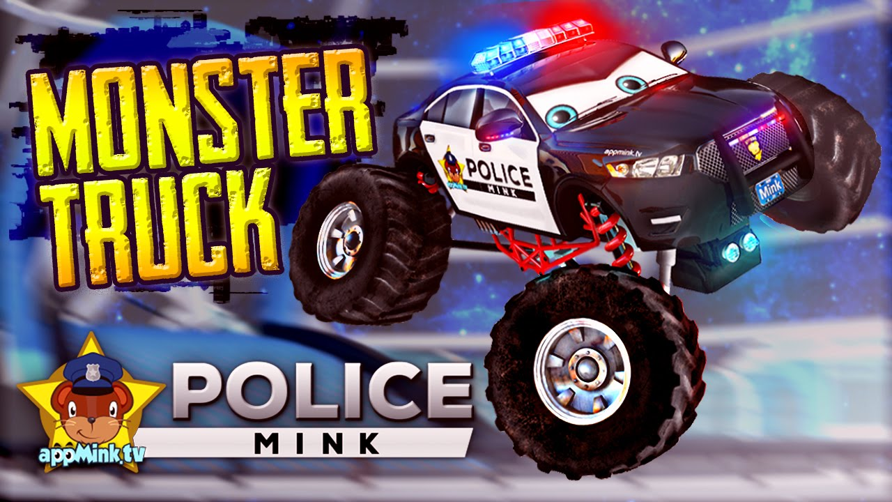 Appmink Police Car Monster Truck Make Over How To Create A Big