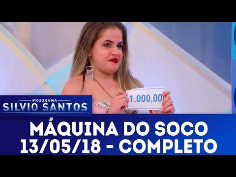 Máquina do Soco | Programa Silvio Santos (13/05/18)