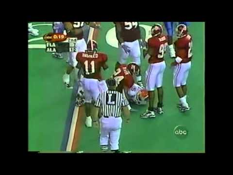 1999 SEC Championship Game - #5 Florida vs. #7 Alabama Highlights