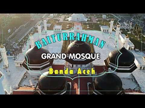 Keindahan Masjid Raya Baiturrahman Banda Aceh - Indonesia | New Baiturrahman Grand Mosque