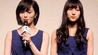 香港國際電影節《NMB48女神之育成》山本彩,矢倉楓子一同出席影迷見面會。