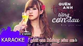 Kim Jun See - Quên Anh Trong Từng Cơn Đau [Karaoke]