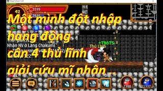 Ninja school online | Trùm 4x sv23 đột nhập hang động giải cứu mĩ nhân ..
