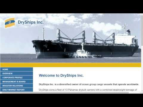 DRYS stock news: Dryships earnings report pump fade, BDI baltic dry index shipping, revenue long
