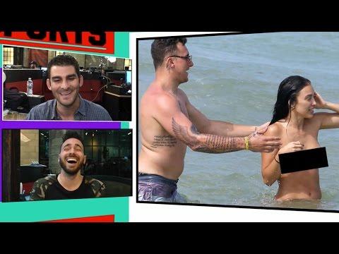 Johnny Manziel & Fiancee In Topless Beach Party with 2 Hot Chicks! | TMZ Sports