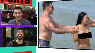 Johnny Manziel & Fiancee In Topless Beach Party with 2 Hot Chicks!   TMZ Sports