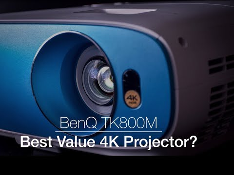 The BenQ TK800M The Best Value 4K Projector?