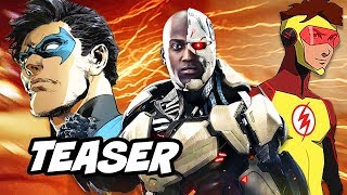 Young Justice Season 3 Characters Teaser and Cyborg Titans Breakdown