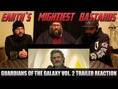 Reaction: Guardians of the Galaxy Vol. 2 Trailer #2